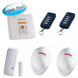 Visonic PowerMaster 10 Triple - Pack Alarme maison