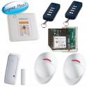 Visonic PowerMaster10 - Pack alarm home Powermaster10 GSM
