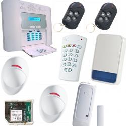 Pack alarm PowerMaster30 NFA2P GSM-F1 / F2, mit außensirene Visonic