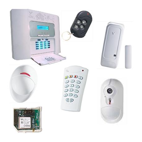 Visonic Allarme NFA2P - Pack allarme PowerMaster30 GSM fotocamera
