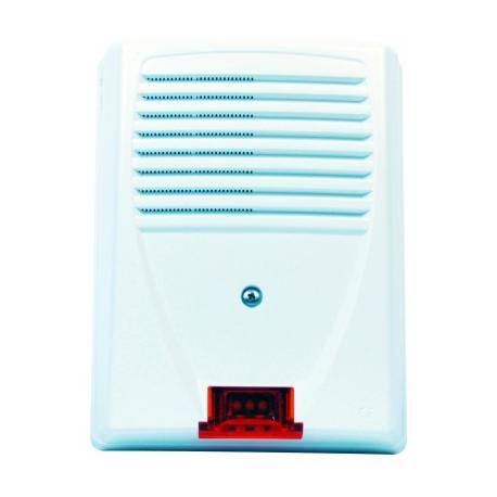 SIREXF - Sirena de alarma con cable al aire libre NFA2P con flash Altec