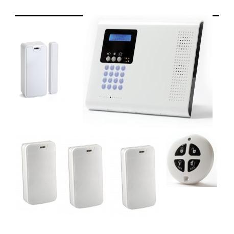 Alarme maison sans fil - Pack Iconnect IP / GSM F3 / F4