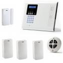 Pack Alarm haus drahtlos - Pack alarmanlage Iconnect IP / GSM-F3 / F4