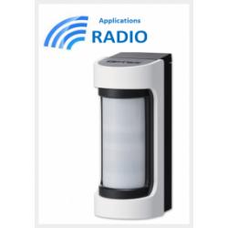 Accessori optex VXS-RAM - Rivelatore IR radio outdoor grandangolo accessori optex