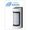Optex VXS-RAM - VXS-RAM détecteur IR radio extérieur grand angle Optex