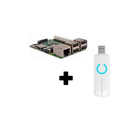 Raspberry PI 3 - Raspberry Pi 3 Z-Stick Aeotec ZW090 Z-Wave Más