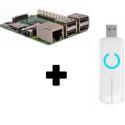 Raspberry Pi 3 Z-Stick Aeotec ZW090 Z-Wave Más