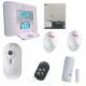 Visonic Alarm NFA2P - Pack-alarmanlage PowerMaster 30 IP-kamera-detektor