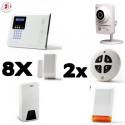 Alarm haus angeschlossen Iconnect IP / GSM