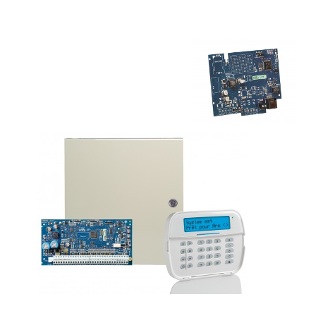 Alarm DSC-NEO - NEO hybrid-kraftwerk NFA2P mit tastatur, radio