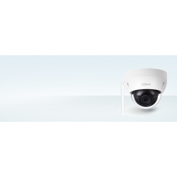 Dahua IPC-HDBW1320E-W - Dôme vidéosurveillance IP / WIFI 3 Mega Pixel