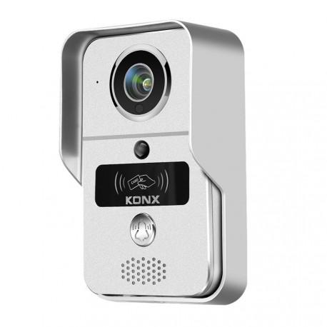 KONX W02C - Porter de vídeo wi-fi o Ethernet / IP lector de RFID