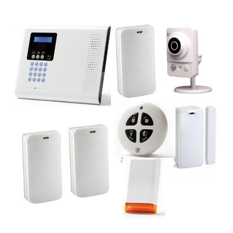 Línea de productos electrónicos - Pack Iconnect IP / GSM F3 / F4 con la sirena y la cámara