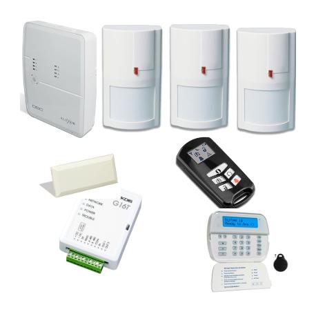Alarma DSC - Pack DSC ALEXOR con comunicador GSM
