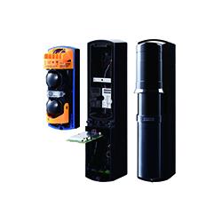 SL350QFRC accessori optex - Barriera IR 100m all'aperto 4 travi IP65