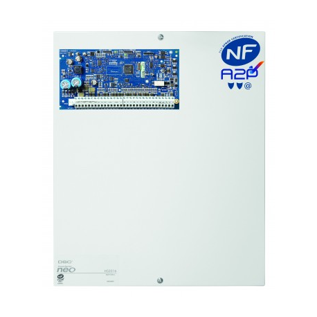 Alarm NEO DSC - Pack zentralen alarm-NEO 6 bis 16 zonen mit tastatur