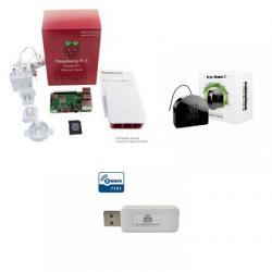 Jeedom pack de automatización Pack Raspberry Pi 3 módulo Z-Wave de los RGF-222