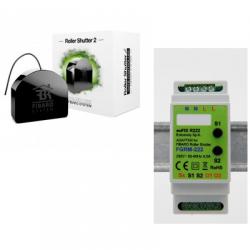 Fibaro FGR-222 - Módulo automático del obturador Z-Wave PLus en riel DIN