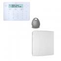 Risco LightSYS - Zentrale alarm kabelgebunden angeschlossen mit tastatur Keypad-player-abzeichen