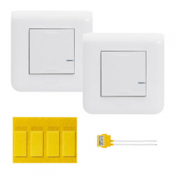 Legrand 077732 - comes and Goes wireless Legrand Mosaic White