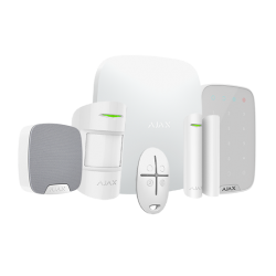 Allarme Ajax BKIT-W-KS - Pack di allarme IP / GPRS con sirena da interno