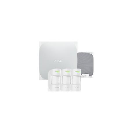 Alarme Ajax HUBKIT-PRO-S - Pack alarme IP / GPRS avec sirène intérieure