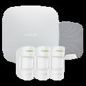 Alarm Ajax HUBKIT-PRO-S - Pack alarm IP / GPRS with indoor siren