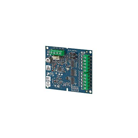 Carte module de 8 sorties transistorisées 50mA intégrable dans le coffret Flex