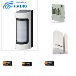 Risco VXS-RDAM - radio Detector de INFRARROJOS / Hyperfréqunce al aire libre de gran angular antimasque