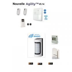 Risco Agility-4 - wireless-Alarm-IP/GSM detektor außerhalb Einbeinstativ VXS-RDAM
