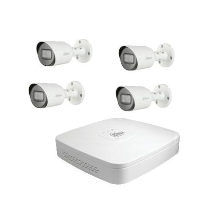 Dahua-Kit cctv - Recorder mit 4 HD-kameras-CVI 2-Megapixel-kamera