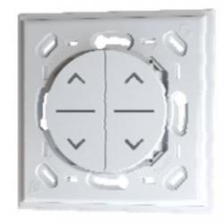 Trio2sys - Interrupteur volet roulant 2 touches EnOcean compatible Odace