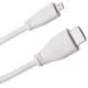 Câble HDMI Raspberry Pi 4 modèle B, Micro HDMI vers HDMI, 1 m, Blanc