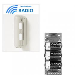 Einbeinstativ BX80N - Sensor dual IR exétrieure 12X12M anti-tieren