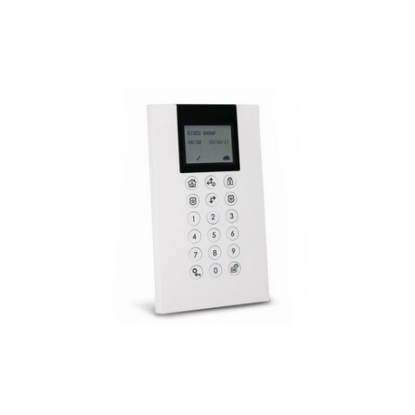 Risco RP432KP0200A - Keyboard alarm Panda wired LCD