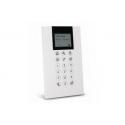Risco RP432KPP200B - Clavier alarme Panda filaire LCD avec lecteur de badge