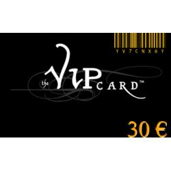 Tarjeta de regalo VIP por un valor de 30€