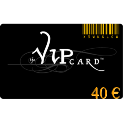 Gift card VIP with a value of 40€