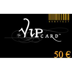 Karte VIP-geschenk im wert von 50€