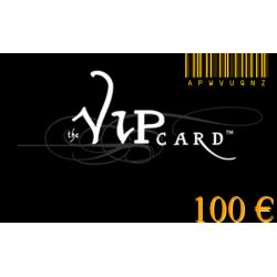 Carte cadeau VIP d'une valeur de 100€