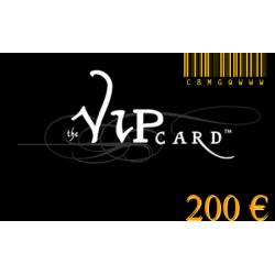 Carte cadeau VIP d'une valeur de 200€