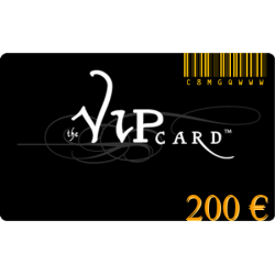 Tarjeta de regalo VIP, con un valor de 200€