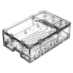 Enclosure, Raspberry Pi 4 Multicomp Pro transparent