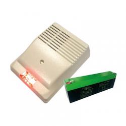 Altec SIREXF - Sirène alarme filaire extérieure NFA2P avec flash batterie