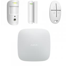 Ajax Starter KIt 2-W - kit démarrage levée de doute vidéo