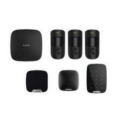 Alarme Ajax - Alarme Kit HUB 2 MotionCam sirène noir