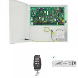 Alarme Paradox MG5000 - Centrale 32 zones radios télécommande RM25 carte IP