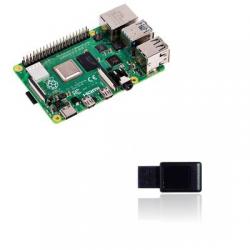 Raspberry Pi4 - Paspberry Pi4 CPU 1,5 Ghz RAM 2GO DDR4 UZB1