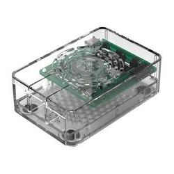 Gehäuse Raspberry Pi 4 Multicomp Pro transparent