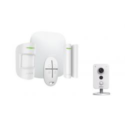 Ajax Starter Kit - Alarme Ajax StarterKit blanc avec caméra Dahua 4MP